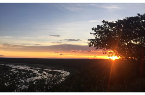Stunning sundown at the olifants Restcamp