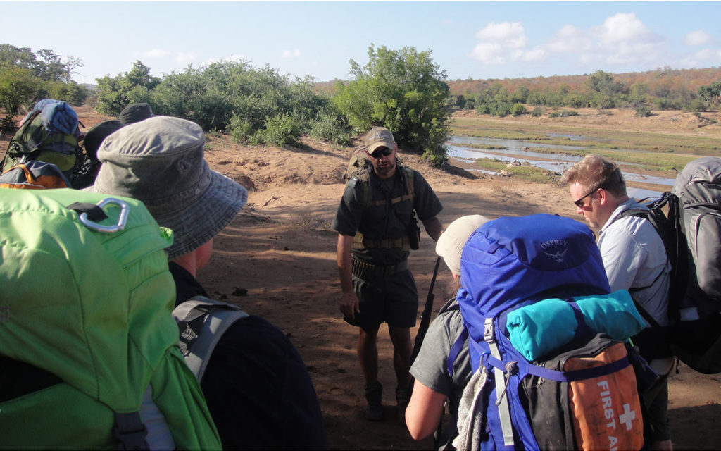 Kruger Backpack Trail - Pre-Trail briefing
