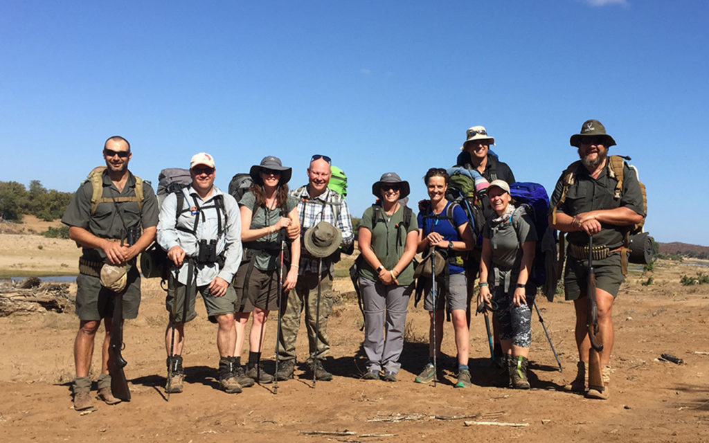 Walking Safari in Kruger, Olifants Backpack Trail Group picture